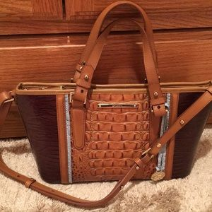 Brahmin purse handbag shoulder bag gorgeous